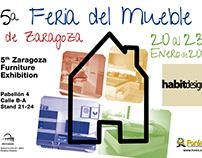 Cartel feria del mueble Zaragoza