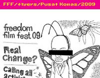 Poster Design2009/FreedomFilmFest/Pusat Komas