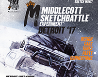Posters for the Sketchbattle Experiment and DIM Battles