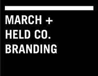 March + Held Co. Branding
