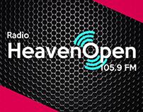 Logotipo Radio Heaven Open