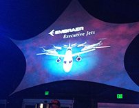 Displays and Projected Images - NBAA Customer Reception
