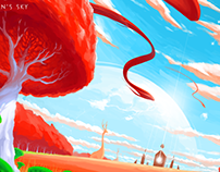 Red Planet (No Man`s Sky fanart)