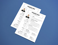 Free Formal Microsoft Word Resume Template