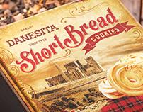ShortBread cookies packaging design