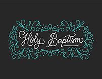 Baptism Certificate Design