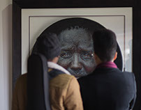Loyiso Mkize's solo exhibition, Reflections