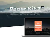Paper Kit 2 - Premium Bootstrap 4 UI Kit