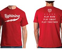 Shirts for local softball team