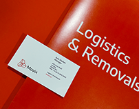Movix. Brand for removal company. London, UK