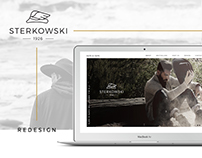 Sterkowski.com  — Website & Logo Redesign