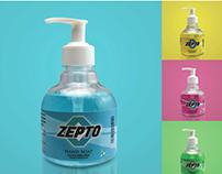 Zepto Hand Soap Packaging