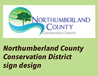 Northumberland County Conservation District Sign