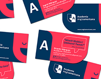 Graphic pieces for the english academy AngloAmericano