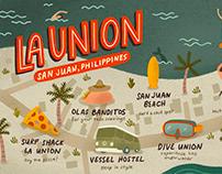 La Union Map
