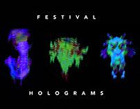 Festival Holograms