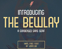 THE BEWLAY - FREE CONDENSED SANS SERIF