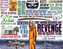 Kill Bill tribute print