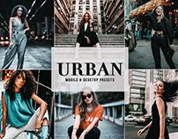 Free Urban Mobile & Desktop Lightroom Presets