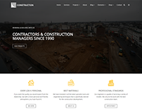 Services Page - Construction WordPress Theme