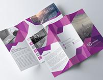 Abstract Tri-fold Brochure