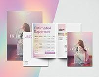 Iridescent - Recital Event Branding