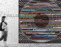 Obra de arte digital pictórico de Ribes