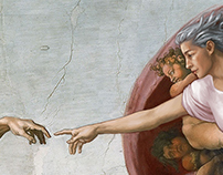 Michelangelo's Creation of Man – by Woman
