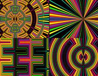 Color Pattern - VJ Loop Pack (5in1)