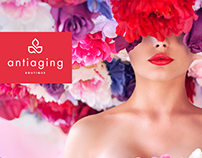 Anti-Aging Boutique Brand Identity Design