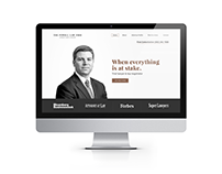 The Powell Law Firm Landing Page Concept