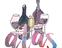 Atas: Wine