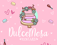 Dulce Mesa Montajes - Brand Identity