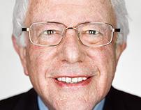 Martin Schoeller + People + Bernie Sanders