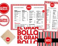 Branding y Diseño integral comunicación El Gran Bollo