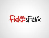 Logo, Fido et Félix, nourriture et accessoires