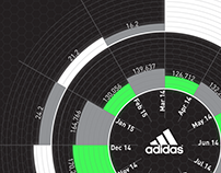 Reporting & Analytics infographics - Adidas