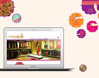 Massakali Website Design