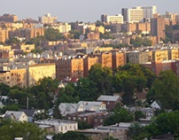 Apartment buildings at the Bronx