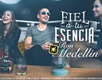 Ron Medellín Fiel a tu esencia