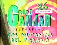 Afiches GRUPO GANJAH