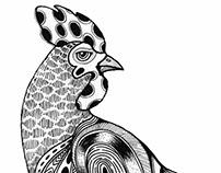 Rooster Calendar 2017