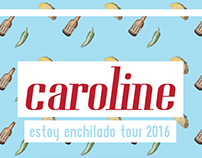 Caroline Tour 2016 Poster
