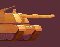 Game art (Tanks)
