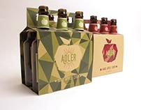 Adler: Hard Cider Packaging