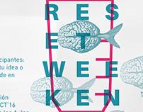 RESET WEEKEND VIII / Propuestas gráficas