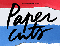 Paper Cuts Art Direction YOOX.COM