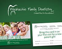 Waxahachie Family Dentistry Marketing Material
