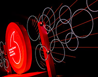 Stage Design - Vodafone Business event
