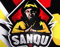MASCOT LOGO FOR SANQU3Q